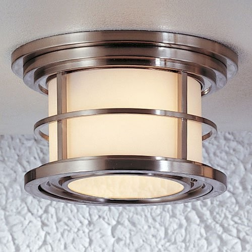 Murray Feiss OL2213BB Lighthouse 2 Light Ceiling Fixture in Burnished