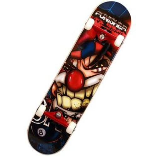 Bike USA Punisher Jester ABEC-7 31-inch Complete Skateboard
