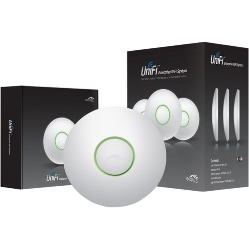 Ubiquiti - UniFi IEEE 802.11n 300 Mbps Wireless Access Point - ISM Band