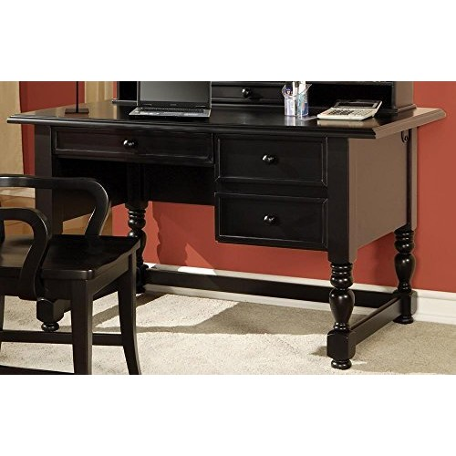 Bella Desk in Multi-Step Black Finish