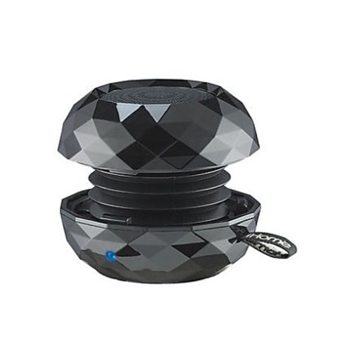 iHome Speaker System - Wireless Speaker(s) - Portable - Battery Rechargeable - Black