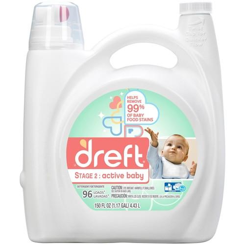 Dreft Active Baby Laundry Detergent