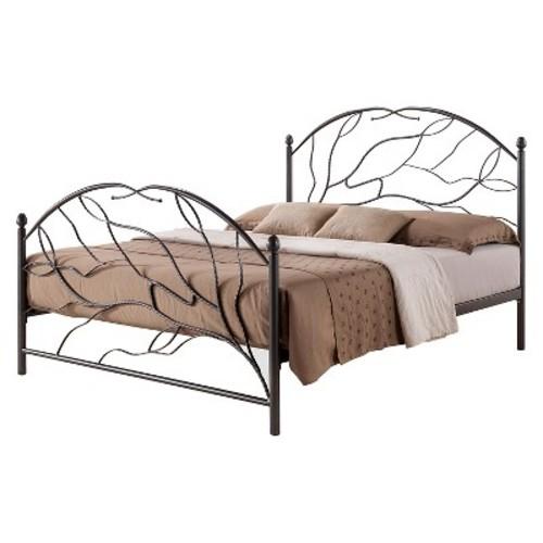 Zinnia Platform Bed - Baxton Studio