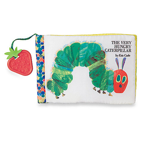 Kids Preferred The Very Hungry Caterpillar Sensory Soft Book by Eric Carle