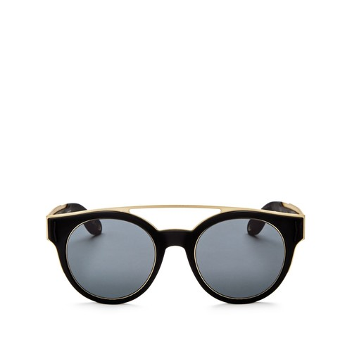 GIVENCHY Brow Bar Round Sunglasses, 49Mm