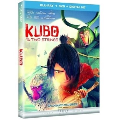 Kubo and the Two Strings Blu-Ray Combo Pack (Blu-Ray/DVD/Digital HD)