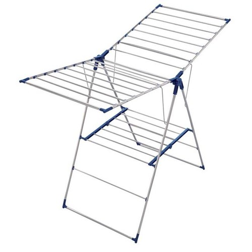 Leifheit Roma 150 Stainless Steel Gullwing Laundry Drying Rack