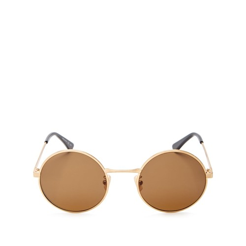 SAINT LAURENT Zero Round Sunglasses, 50Mm