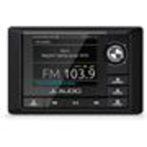 JL Audio MM100s-BE Marine 4-zone digital media receiver with Bluetooth (does not play CDs)