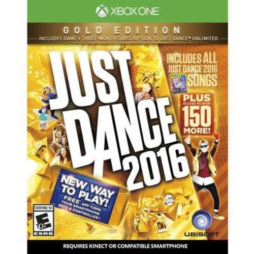 Ubisoft Music & Party/Dance Just Dance 2016 Gold Edition Gaming Software, Xbox One (UBP50421065)