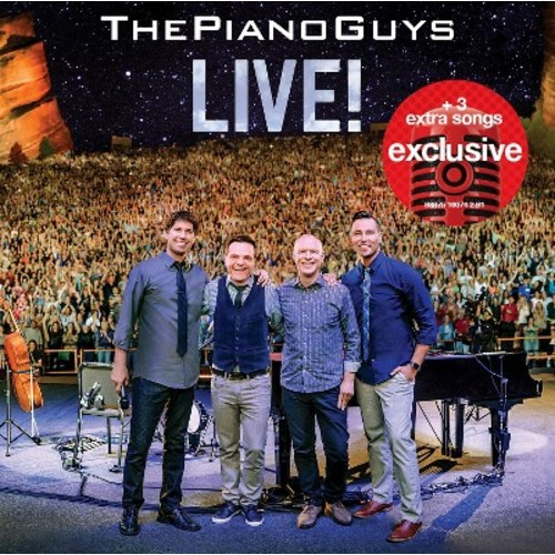 The Piano Guys - Live! - Target Exclusive