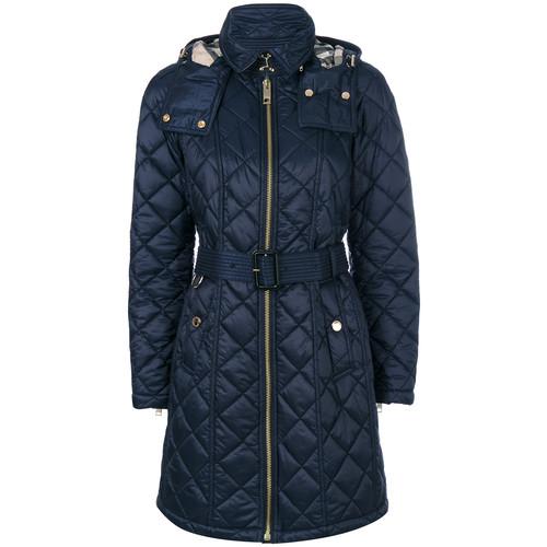 BURBERRY Quilted Zip Coat