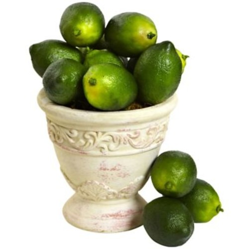 Nearly Natural Faux Limes (Set of 12)