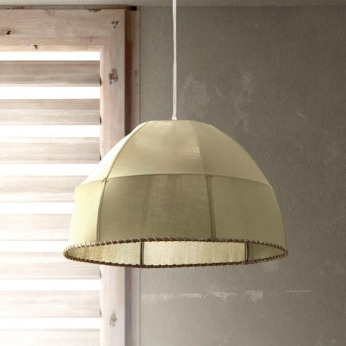Zuo Modern Marble Ceiling Lamp - Pea Green