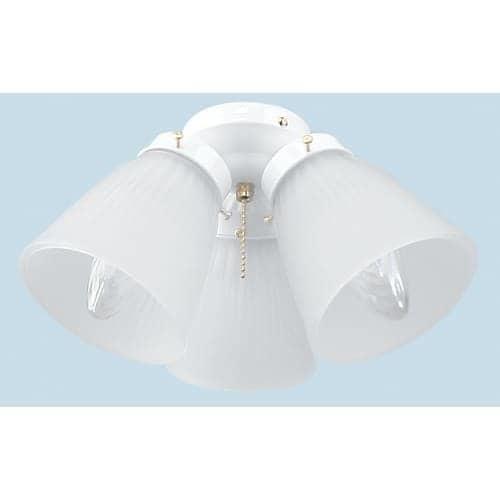 Craftmade ECK758 3 Light Ceiling Fan Light Kit
