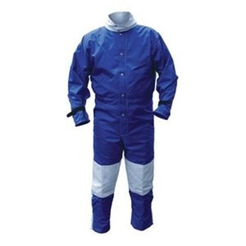 Abrasive Blast Suit, Blue, XXX-Large