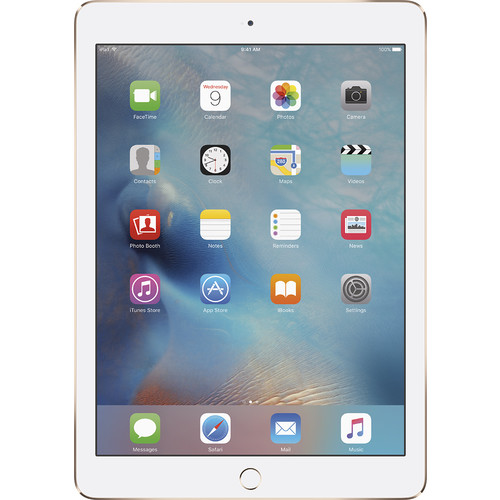 Apple - Refurbished MH0W2LL/A iPad Air 2 Tablet 16GB WiFi - G