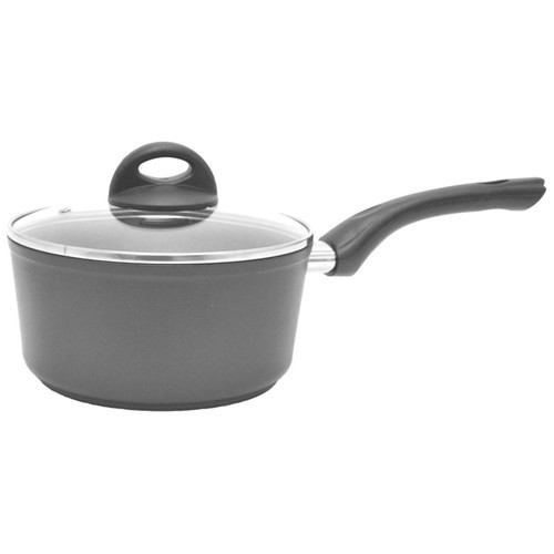 Starfrit La Forge Aroma 1.4 Qt Saucepan With Lid, Gray