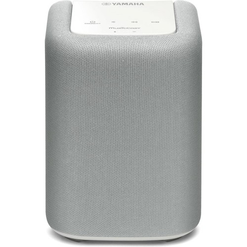 Yamaha MusicCast WX-010 (White) Compact wireless powered speaker with Wi-Fi, Bluetooth, and Apple AirPlay