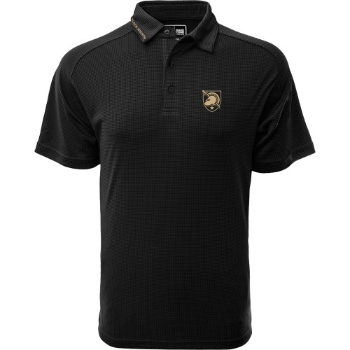 Levelwear Men's Army Black Knights Black Tactical Polo