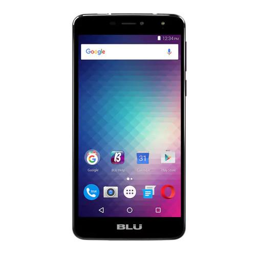 BLU Studio XL2 S0270UU 16GB Unlocked GSM 4G LTE Quad-Core Phone w/ 13MP Camera - Black - Black