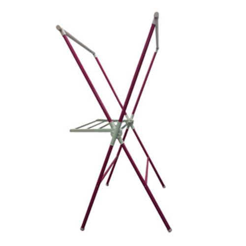 Freestanding Folding Drying Rack in White [Finish : Pink]