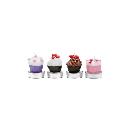 Cupcake Tealight Candle Set