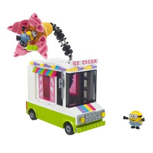 Mega Bloks Despicable Me Ice Scream Truck Building Set