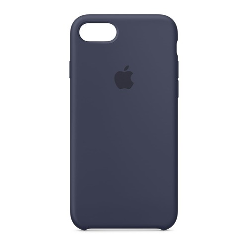 Apple Silicone Case for iPhone 8 Plus/7 Plus - Midnight Blue