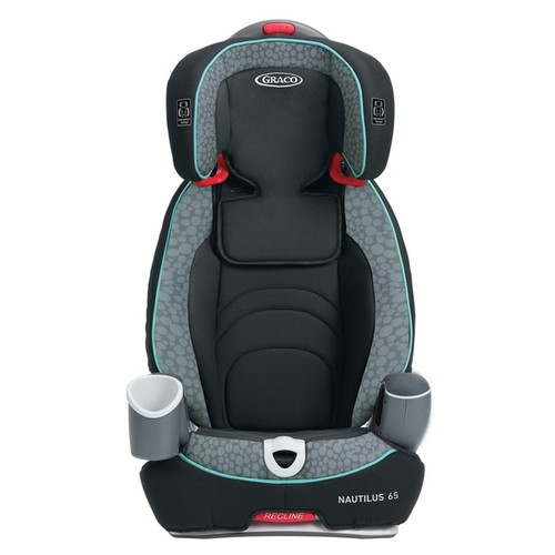 Graco Nautilus 65 3-in-1 Harness Booster Convertible Car Seat in Sully