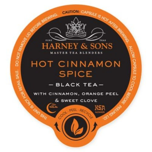 16-Count Harney & Sons Hot Cinnamon Tea
