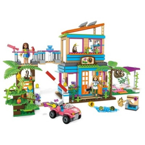 Mega Construx American Girl Lea's 2-in-1 Rainforest Sanctuary Building Set