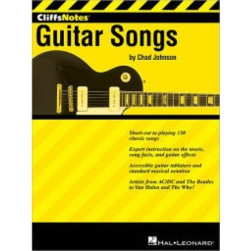 CliffNotes to Guitar Songs