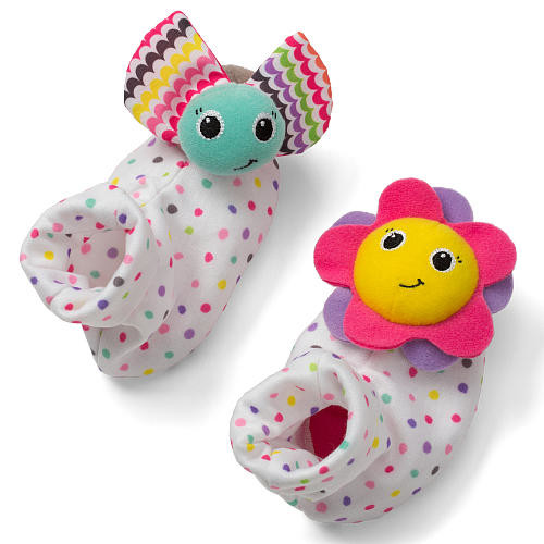 Infantino Sparkle Foot Rattles