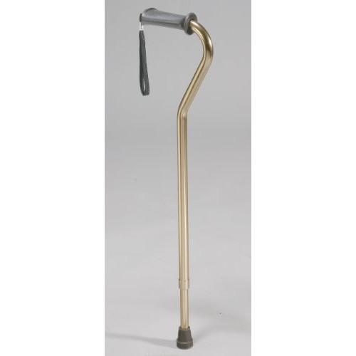 Drive Medical (a) Ortho Grip Offset Cane Aluminum-Bronze
