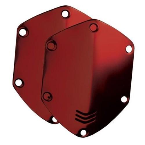 V-Moda On-Ear Custom Metal Shield Kit for Crossfade Headphones, Crimson Red