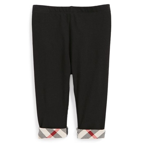 BURBERRY Check Cuff Pants