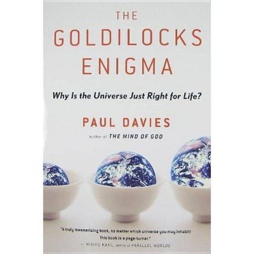 The Goldilocks Enigma: Why Is the Universe Just Right for Life? Paul Davies Paperback