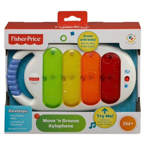 Fisher-Price Infant's Move 'N Groove Xylophone