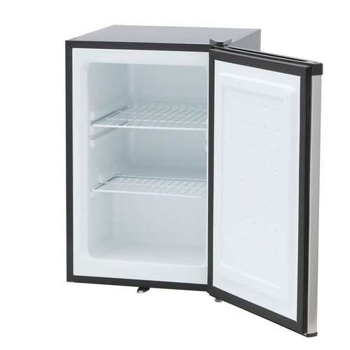 SPT 2.1 cu. ft. Upright Freezer in Stainless Steel