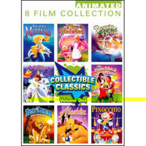 Collectible Classics: Animated 8 Film Collection, Vol. 1 [2 Discs]