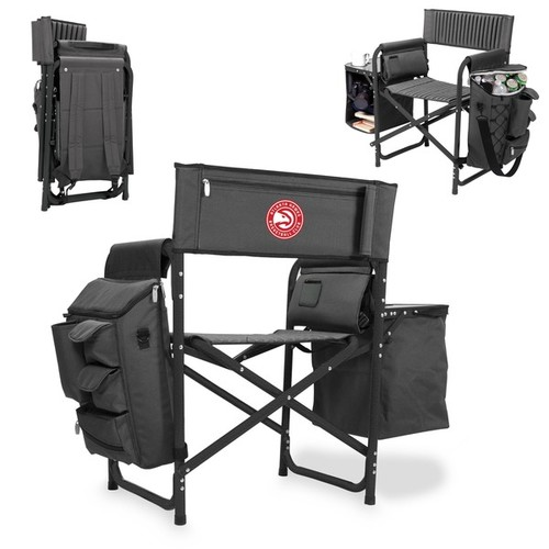 Picnic Time Atlanta Hawks Fusion Chair [option : Fusion Grey/Red]