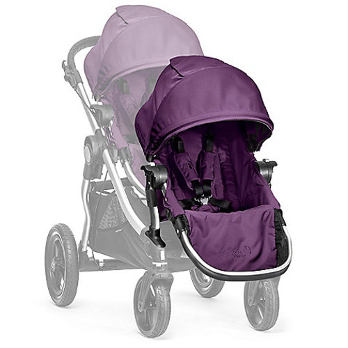 Baby Jogger City Select Silver Frame Second Seat Kit in Amethyst