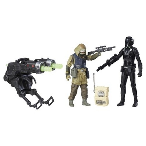 Star Wars: Rogue One 6 inch Action Figure - Imperial Death Trooper and Rebel Commando Pao Deluxe