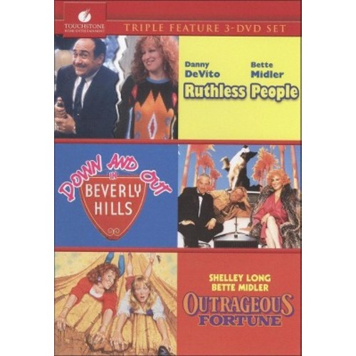 Ruthless People/Down and Out in Beverly Hills/Outrageous Fortune [3 Discs]