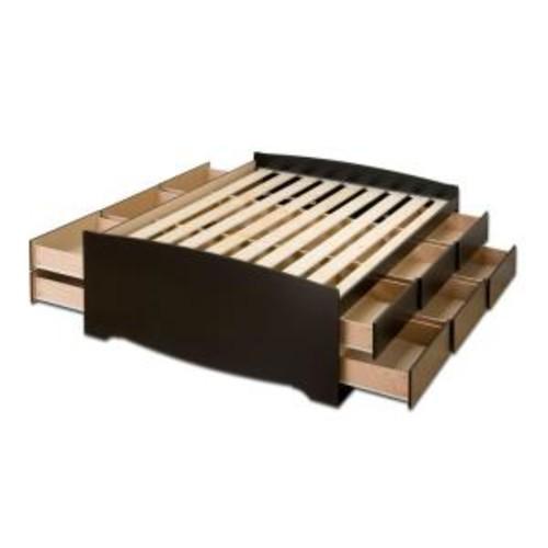 Prepac Sonoma Full Wood Storage Bed