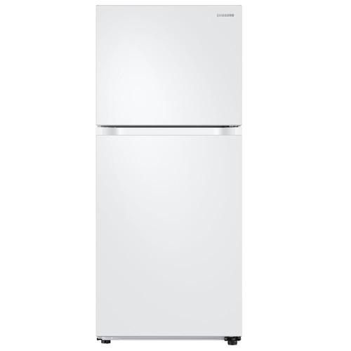 Samsung 18 cu. ft. Top Freezer Refrigerator with FlexZone - White