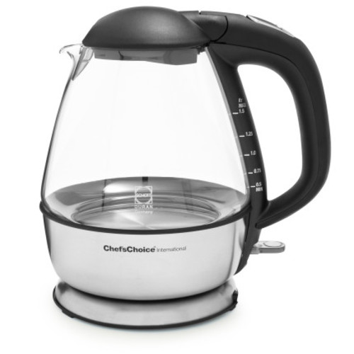 ChefsChoice Cordless Electric Glass Kettle
