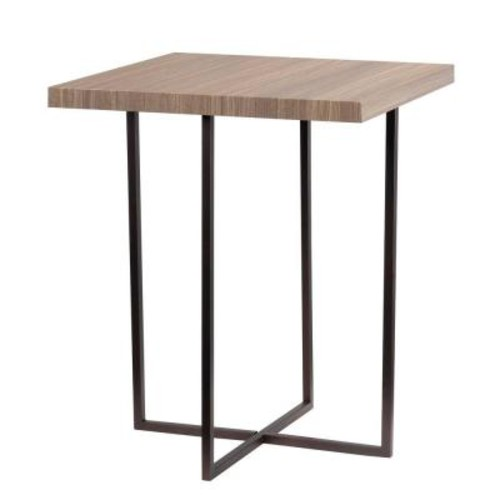 Kenroy Home Cronin Satin Bronze End Table