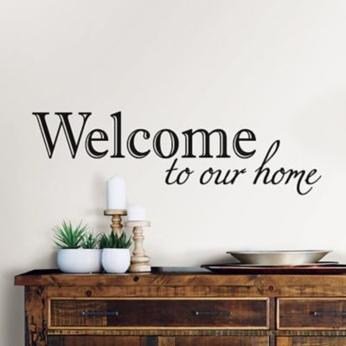WallPops! Welcome Quote Wall Decal